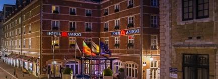 Hotel AMIGO: exterior